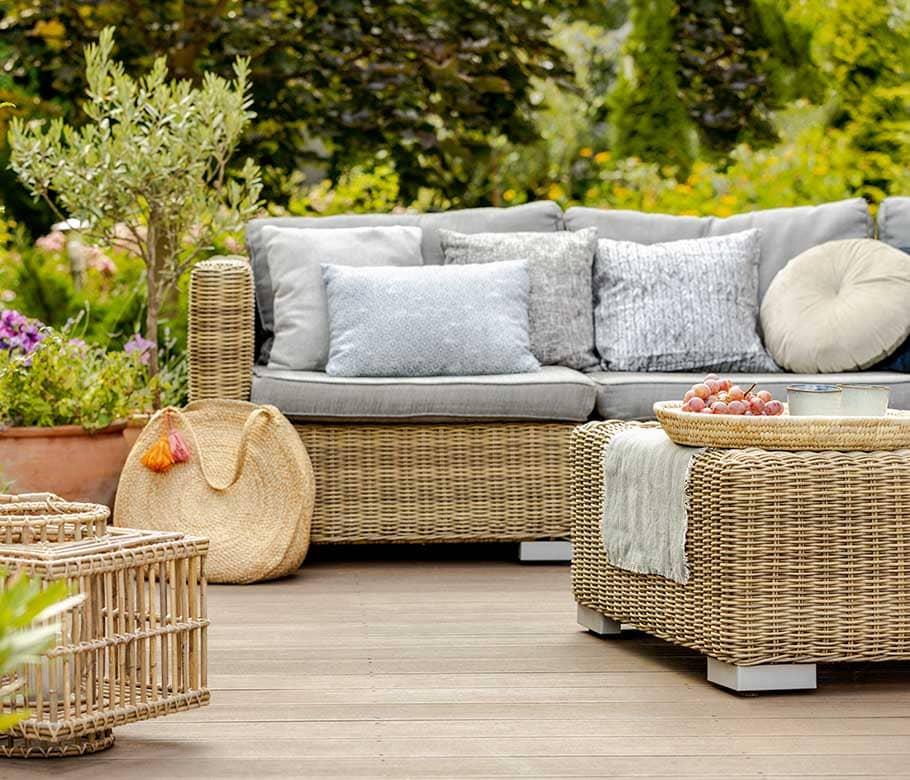 Möbel & Ausstattung für Garten & Terrasse